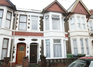 Thumbnail 4 bedroom terraced house to rent in Heathfield Road, Heath, Cardiff