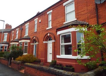 Thumbnail 3 bed terraced house for sale in Causeway Avenue, Warrington, Cheshire