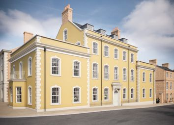 Thumbnail 3 bedroom flat for sale in Kings Point House Queen Mother Square, Poundbury