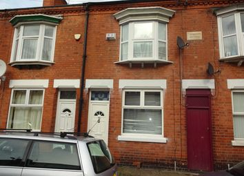 Thumbnail 2 bedroom terraced house for sale in Raymond Road, Leicester