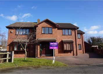 Thumbnail 5 bed detached house for sale in Peewit Close, Winsford