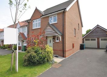 Thumbnail 4 bed detached house for sale in Honey Spot Crescent, Widnes
