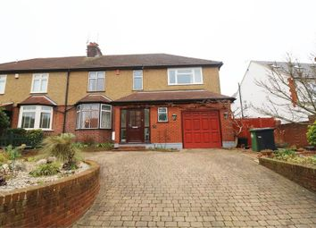Thumbnail Semi-detached house for sale in Longfield Lane, Cheshunt, Waltham Cross, Hertfordshire