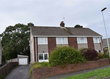 Thumbnail 4 bed semi-detached house for sale in Channel View, Sketty, Swansea