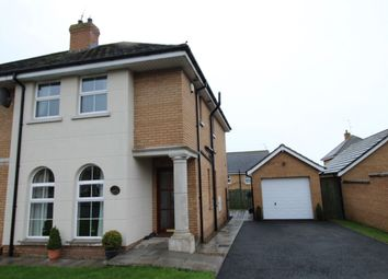 Thumbnail 3 bed semi-detached house for sale in Mornington Avenue, Ballinderry Upper, Lisburn