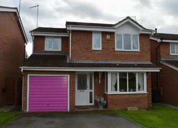 Thumbnail 4 bedroom detached house for sale in Cherry Blossom Close, Little Billing, Northampton