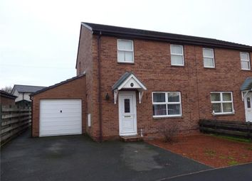 Thumbnail 3 bed semi-detached house for sale in Claremont Drive, Longtown, Carlisle