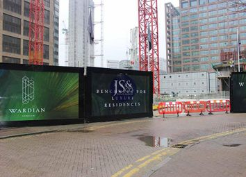 Thumbnail 2 bed flat for sale in Marsh Wall, Isle Of Dogs, London