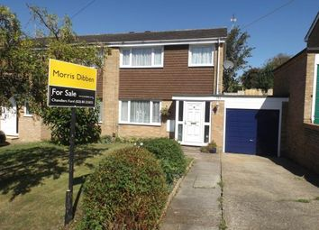 Thumbnail 3 bed semi-detached house for sale in Chandler's Ford, Eastleigh, Hampshire