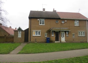 Thumbnail 2 bed semi-detached house for sale in Wellingtonia Drive, Campsall, Doncaster