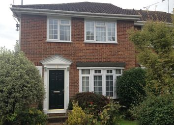 Thumbnail 3 bed terraced house to rent in Lambourne Road, Bearsted, Maidstone