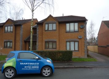 Thumbnail 1 bed flat to rent in Lambourn Drive, Bicton Heath, Shrewsbury