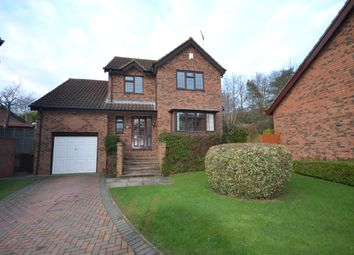 Thumbnail 4 bed detached house to rent in Ravens Croft, East Hunsbury, Northampton