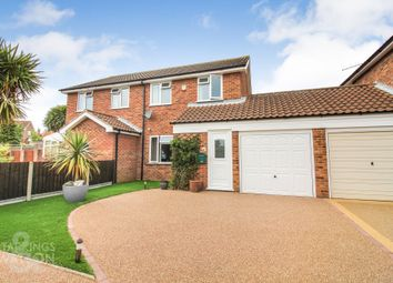 Thumbnail 2 bed semi-detached house for sale in Broadland Way, Acle, Norwich