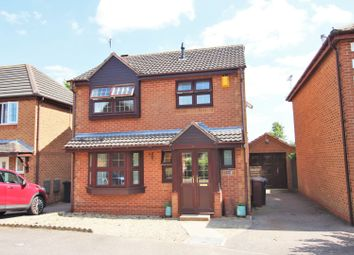 Thumbnail 3 bed detached house for sale in Douglas Road, Duston, Northampton