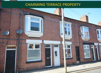 Thumbnail 2 bed terraced house for sale in Dunster Street, Westcotes, Leicester