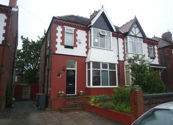 Thumbnail 3 bed semi-detached house to rent in Claremont Road, Salford