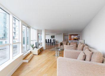 Thumbnail 2 bed flat to rent in Ensign House, St Georges Wharf, Vauxhall