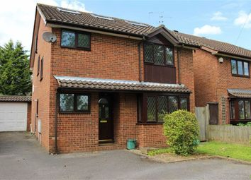 Thumbnail 4 bed detached house to rent in Woodham Lane, New Haw, Surrey