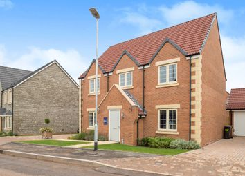 Thumbnail 4 bed detached house for sale in Wand Road, Wells