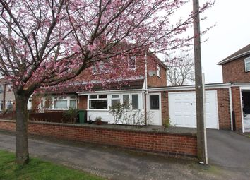 Thumbnail 2 bed semi-detached house for sale in Rushmere Walk, Leicester Forest East, Leicester