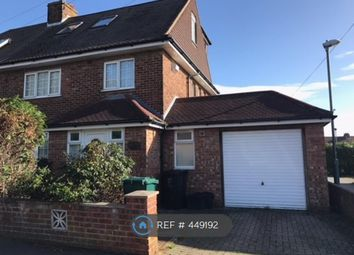 Thumbnail 4 bed semi-detached house to rent in Stapley Road, Hove