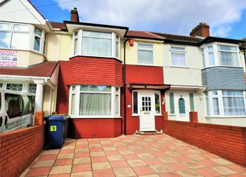 Thumbnail 3 bed terraced house for sale in Tavistock Avenue, Perivale, Middlesex