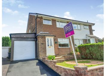 Thumbnail 3 bed semi-detached house for sale in Amberley Drive, Buxton