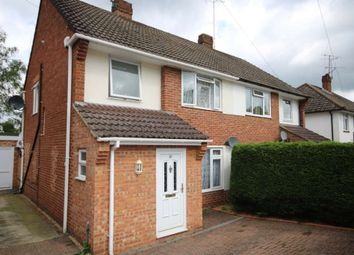 Thumbnail 3 bed semi-detached house to rent in Ferndale Road, Church Crookham, Fleet