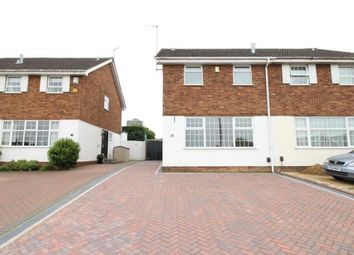 Thumbnail 3 bed semi-detached house to rent in Melloway Road, Rushden