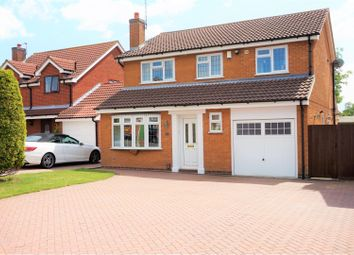 Thumbnail 4 bed detached house for sale in Stamford Drive, Groby