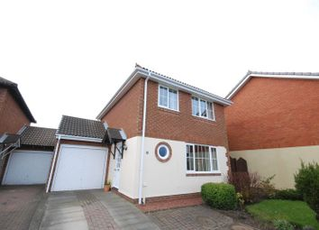 Thumbnail 3 bed detached house for sale in Linnet Court, Ashington