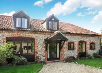 Thumbnail 3 bedroom barn conversion for sale in The Street, Morston, Holt
