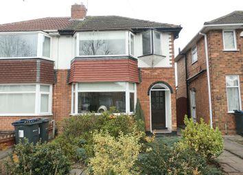 Thumbnail 2 bed semi-detached house for sale in Cranes Park Road, Sheldon, Birmingham