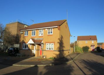 Thumbnail 2 bed semi-detached house for sale in Coltsfoot Drive, Woodston, Peterborough