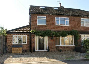Thumbnail 4 bed semi-detached house for sale in Dallington Close, Hersham