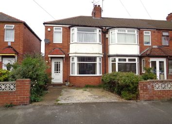 Thumbnail 3 bed end terrace house for sale in Welwyn Park Avenue, Hull
