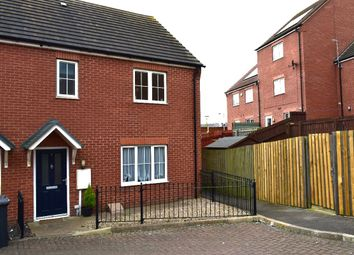 Thumbnail 3 bed semi-detached house for sale in Dawes Meadow Road, Birstall, Leicester
