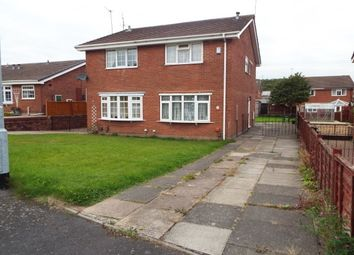 Thumbnail 2 bed semi-detached house to rent in Brutus Road, Newcastle-Under-Lyme