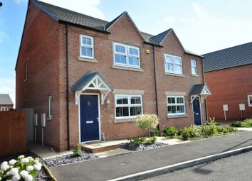 Thumbnail 3 bed semi-detached house for sale in Foxglove Close, Tutbury, Burton-On-Trent