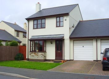 Thumbnail 3 bed link-detached house to rent in Sycamore Gardens, Summercourt, Newquay