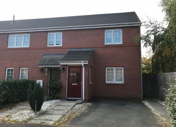 Thumbnail 2 bed flat for sale in Bateman Close, Crewe