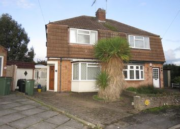 Thumbnail 2 bedroom property to rent in Martin Avenue, Oadby, Leicester