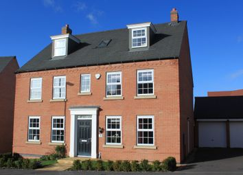 Thumbnail 5 bed detached house for sale in Ivy House Close, Sapcote, Leicester