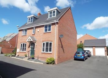 Thumbnail 5 bed detached house for sale in First Oak Drive, Clipstone Village, Mansfield