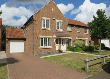 Thumbnail 3 bed semi-detached house for sale in Starlings' Way, Great Witchingham, Norwich