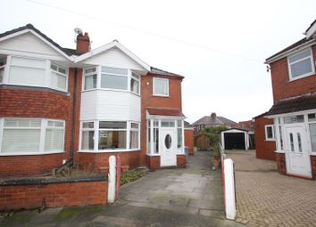 Thumbnail 4 bedroom semi-detached house for sale in Rutland Avenue, Firswood, Manchester