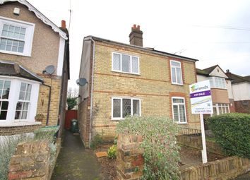 Thumbnail 2 bed semi-detached house for sale in Adelaide Road, Ashford, Middlesex