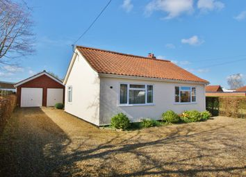 Thumbnail 3 bed detached bungalow for sale in Ivy Road, Spixworth, Norwich
