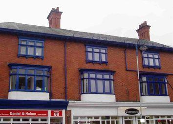 Thumbnail 1 bedroom flat to rent in 62-64 Derby Street, Leek, Leek
